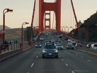 Uber und Volvo starten Pilotprogramm mit selbstfahrenden XC90. © spothits/Auto-Medienportal.net/Volvo