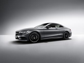 "Mercedes-Benz S-Klasse Coupé ""Night Edition"" ab April verfügbar. © spothits/Auto-Medienportal.net/Daimler"