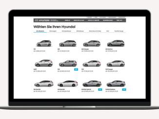 Hyundai überarbeitet Konfigurator. © spothits/Ampnet