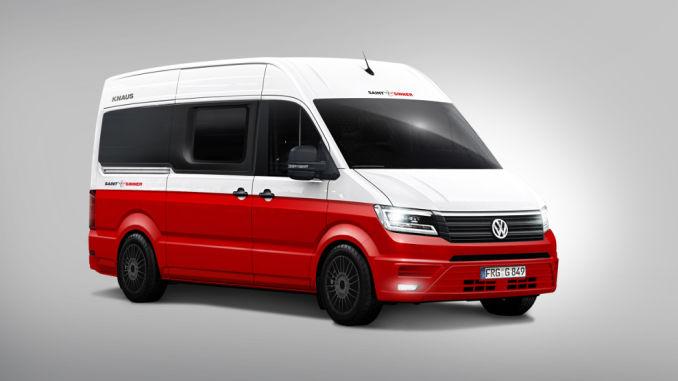 Knaus Kastenwagen-Studie Saint & Sinner auf VW Crafter-Basis. Foto: spothits/Knaus Tabbert