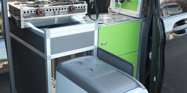 Dogscamper Modular. Küchenmodul. Foto: spothits/Dogscamper