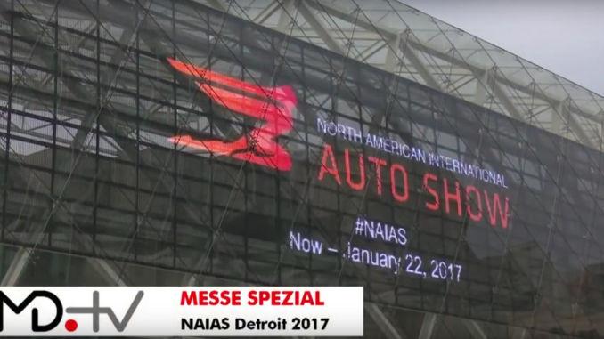 NAIAS 2017. Foto:spothits/Motordialog