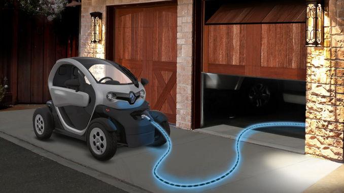 CES 2017: Elektrofahrzeug POM, Twizy. Foto: spothits/Renault