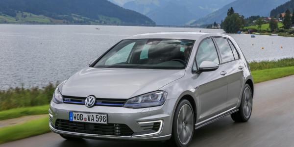 Volkswagen Golf GTE. Foto: spothits/VW
