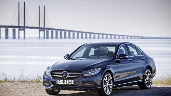 Mercedes-Benz C-Klasse. Foto: spothits/ampnet/Daimler