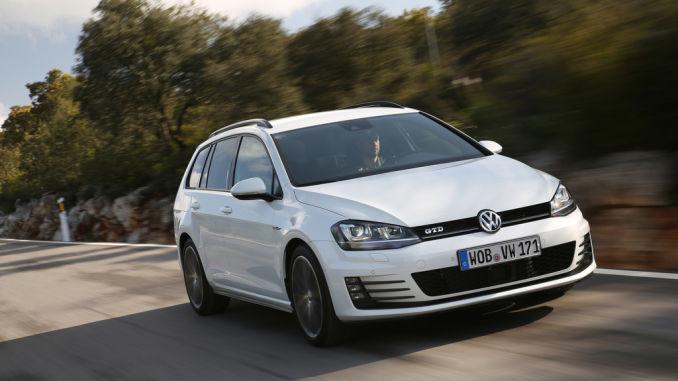 Volkswagen Golf GTD Variant. Foto: spothits/VW