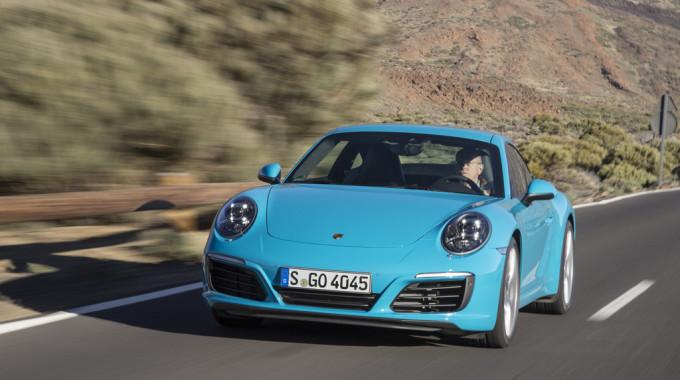Porsche 911 Carrera. Foto: spothits/ampnet/Wollstein