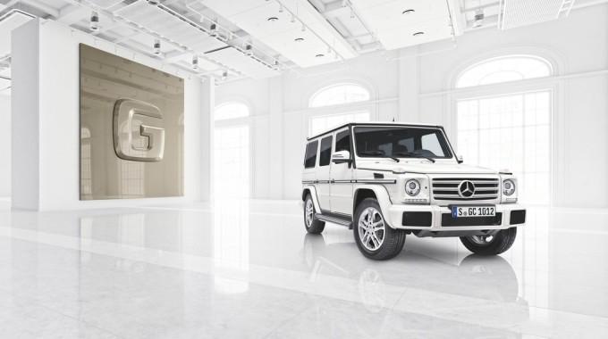 "Mercedes-Benz G-Klasse mit ""Designo manufaktur""-Komponenten. Foto: spothits/ampnet/Daimler"