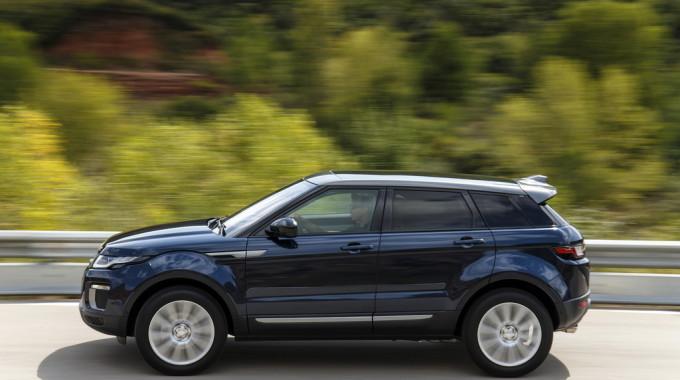 Range Rover Evoque. Foto: spothits/ampnet/Land Rover
