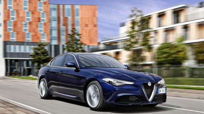 Alfa Romeo Giulia. Foto: spothits/ampnet/Alfa Romeo