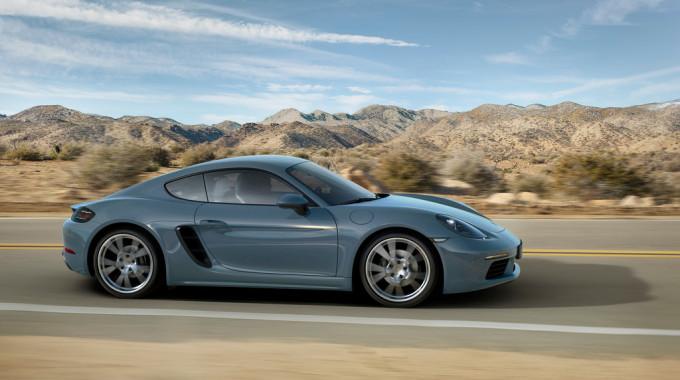 Porsche 718 Cayman. Foto: spothits/ampnet/Porsche