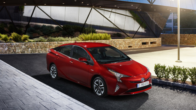 Toyota Prius. Foto: spothits/ampnet/Toyota
