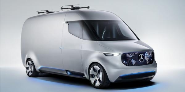 Mercedes-Benz Vision Van. © spothits/ampnet/Daimler
