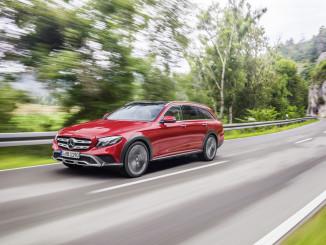 Mercedes-Benz E-Klasse All-Terrain. Foto: spothits/ampnet/Daimler