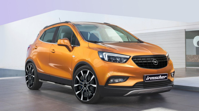 Opel Mokka X mit Tuningteilen von Irmscher. Foto: spothits/ampnet/Irmscher
