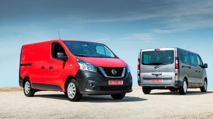 Nissan NV300 Kastenwagen und Kombi. Foto: spothits/ampnet/Nissan