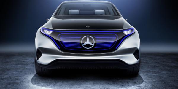 Mercedes-Benz Generation EQ. © spothits/ampnet/Daimler