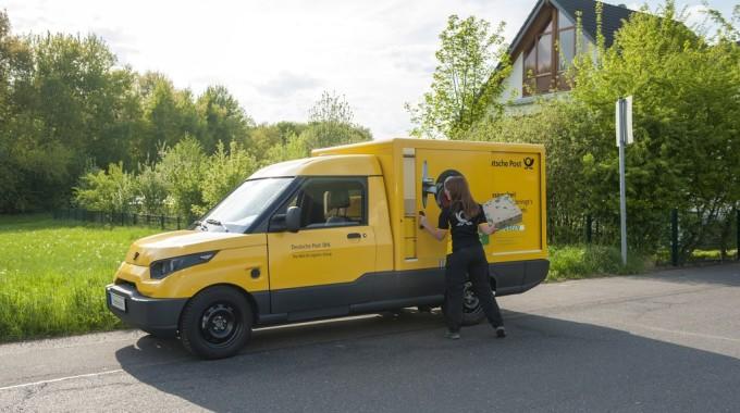 Street Scooter der Deutschen Post. Foto: spothits/ampnet/Deutsche Post