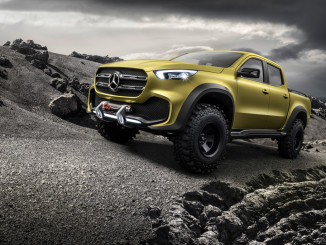 Mercedes-Benz X-Klasse Concept Adventurer. Foto: spothits/ampnet/Daimler