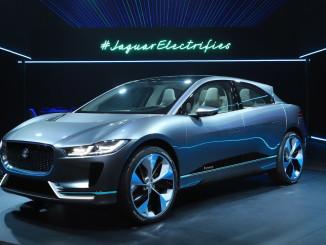 Jaguar I-Pace Concept. Foto: spothits/ampnet/Jaguar