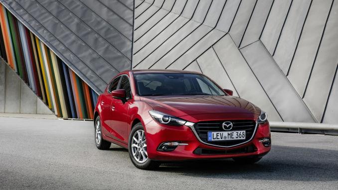 Mazda3. Foto: spothits/ampnet/Mazda