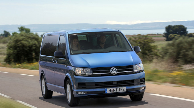 Volkswagen Multivan. Foto: spothits/ampnet/VW