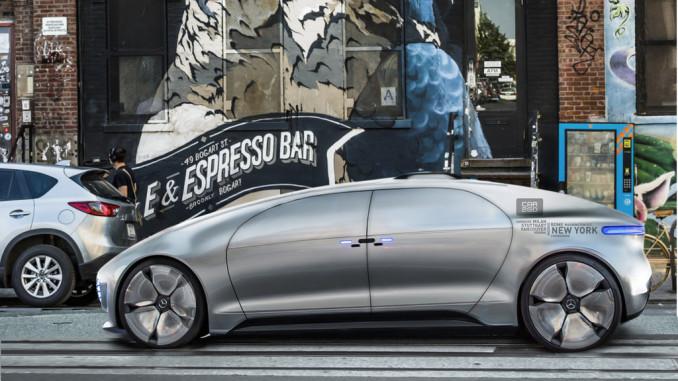 Carsharing steht erst am Anfang. Die Zukunft ist elektrisch und autonom. Foto: spothits/ampnet/Daimler