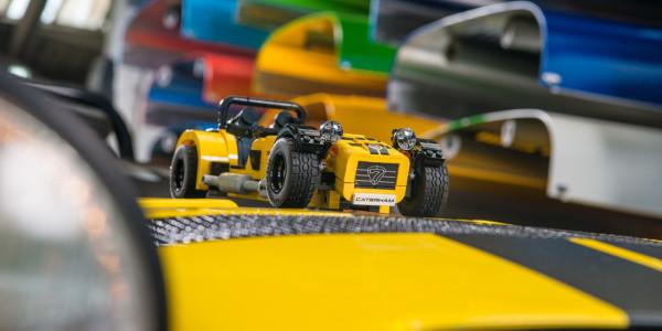Lego-Bausatz für Caterham. Foto: spothits/ampnet/Lego