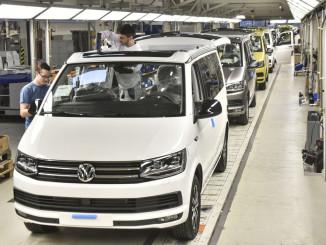 Rekord: Volkswagen baut 12 887 California. © spothits/ampnet/Volkswagen
