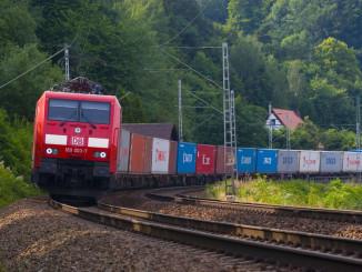 DB Containerzug. © spothits/ampnet/Deutsche Bahn
