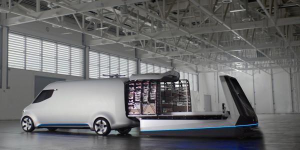 Mercedes-Benz Vision Van. Foto: spothits/ampnet/Daimler