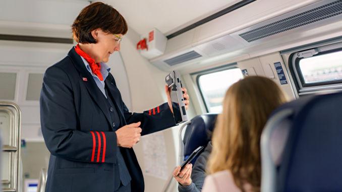 Handy-Ticket bei der Deutschen Bahn. Foto: spothits/ampnet/Deutsche Bahn