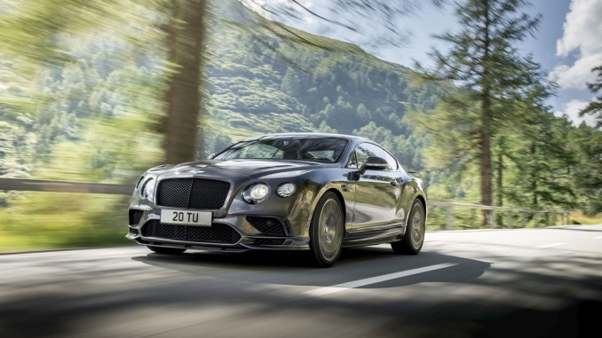 Bentley Continental Supersports. Foto: spothits/ampnet/Bentley