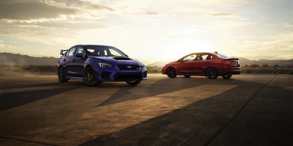 Subaru WRX STI. Foto: spothits/ampnet/Subaru