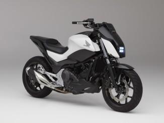 "Honda-Prototyp mit ""Moto Riding Assist"". Foto: spothits/ampnet/Honda"