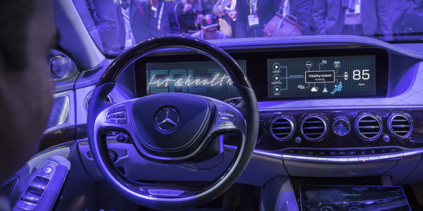 "CES 2017: Konzeptfahrzeug ""Fit & Healthy"" von Mercedes-Benz. Foto: spothits/ampnet/Daimler"