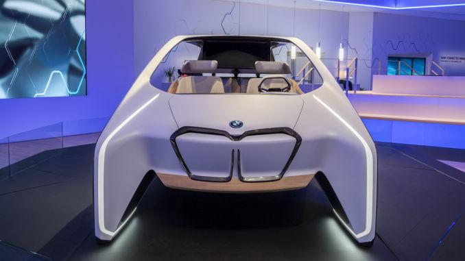 CES 2017: BMW. Foto: spothits/ampnet/Jens Meiners