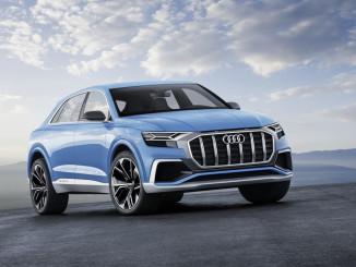 Audi Q8 Concept. Foto: spothits/ampnet/Audi