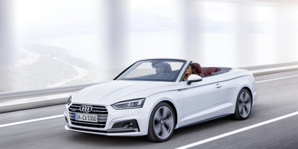 Audi A5 Cabriolet. Foto: spothits/ampnet/Audi