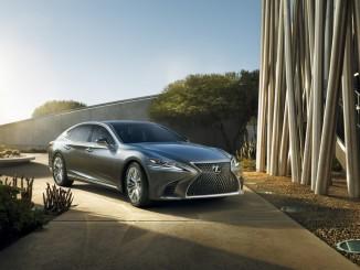Lexus LS. Foto: spothits/ampnet/Lexus