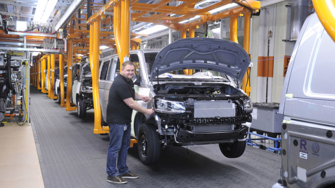 VW baute so viele leichte Nutzfahrzeuge wie noch nie. Foto: spothits/ampnet/VW