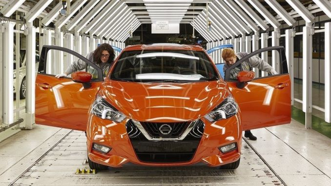 Nissan Micra Fertigung angelaufen. Foto. spothits/ampnet/Nissan