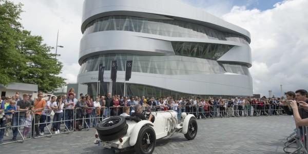 Zehn Jahre Mercedes-Benz-Musuem Stuttgart. Foto: spothits/ampnet/Daimler