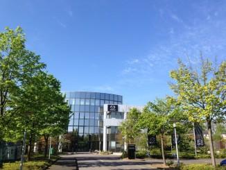 Deutschland- und Europa-Zentrale von Mazda in Leverkusen. Foto: spothits/ampnet/Mazda