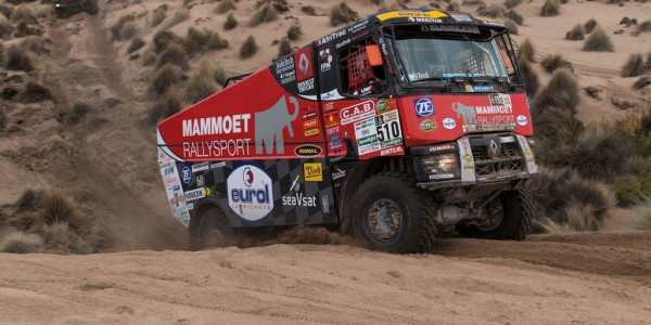Renault Truck des Teams Mammoet Rallye Sport. Foto: spothits/ampnet/ZH