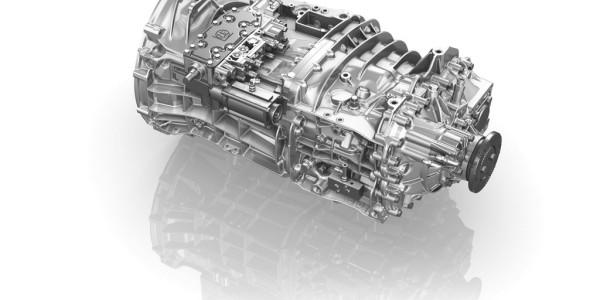 16-Gang-Schaltgetriebe ZF Ecosplit. Foto: spothits/ampnet/ZH