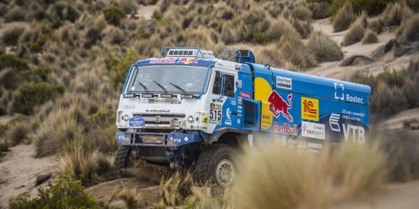 Ein Kamaz bei der Rallye Dakar 2017. Foto: spothits/ampnet/Red Bull