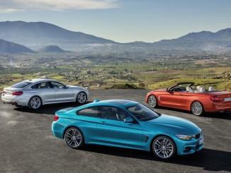 BMW 4er Reihe. Foto: spothits/ampnet/BMW