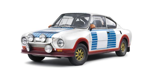 Klassensieger der Rallye Monte Carlo 1977: Skoda 130 RS. Foto: spothits/ampnet/Skoda