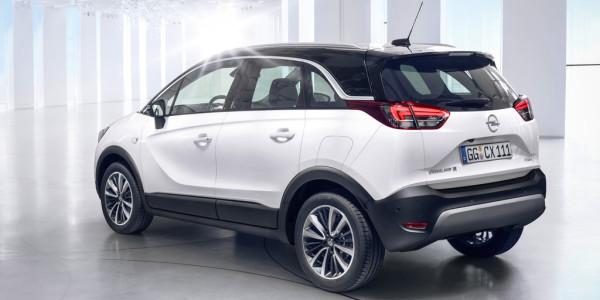 Opel Crossland X. Foto: spothits/ampnet/Opel